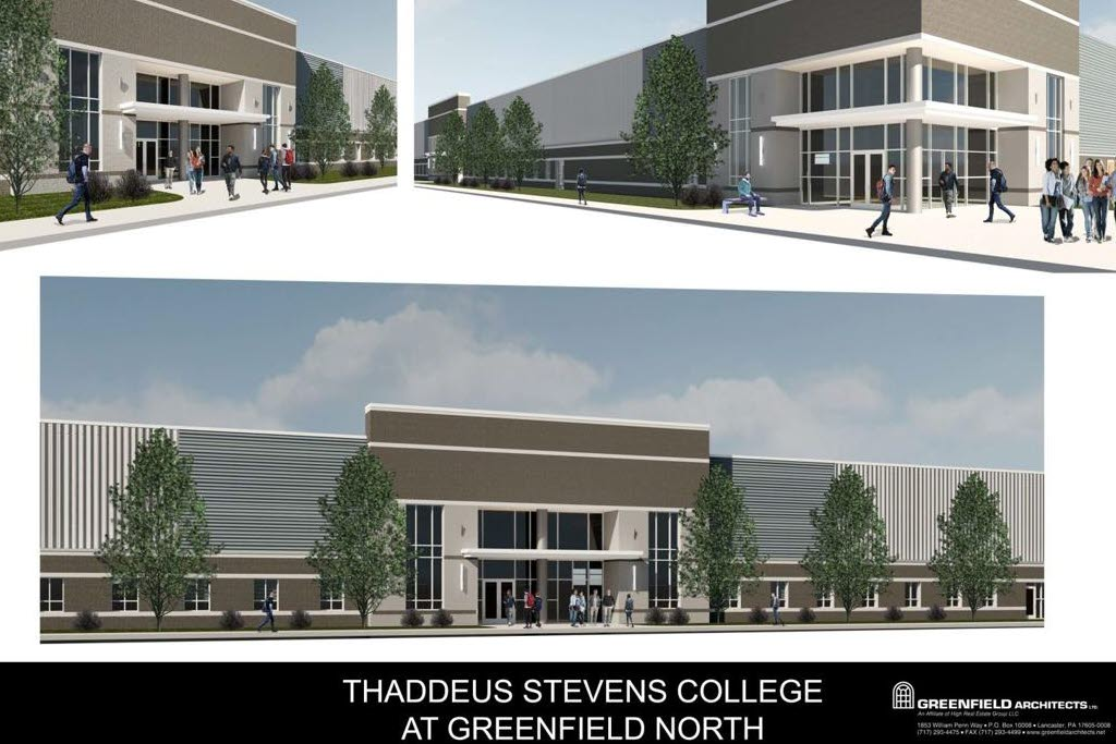 Thaddeus Stevens College Rendering at Greenfield
